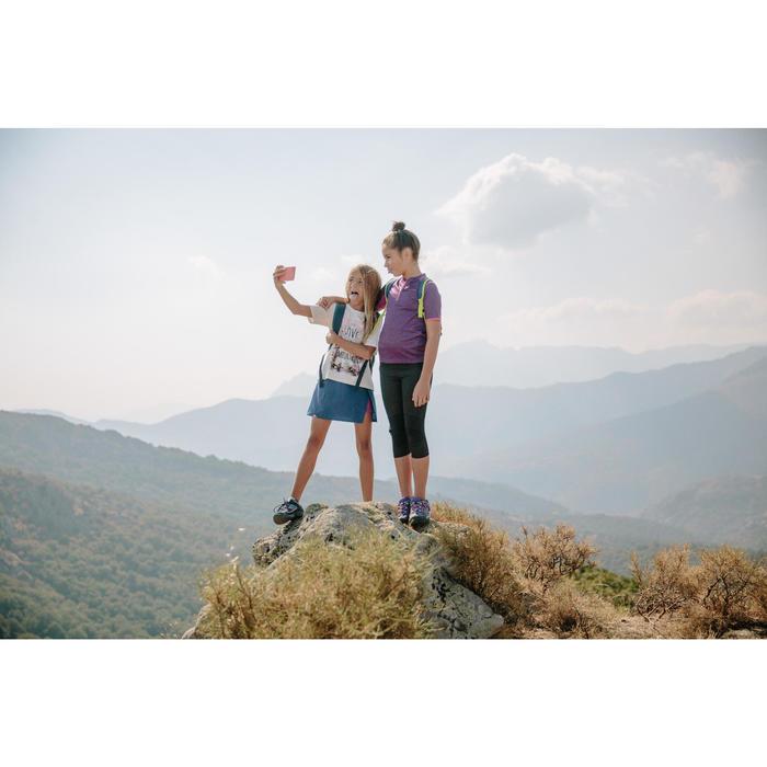 Wanderschuhe Crossrock wasserdicht Kinder lila