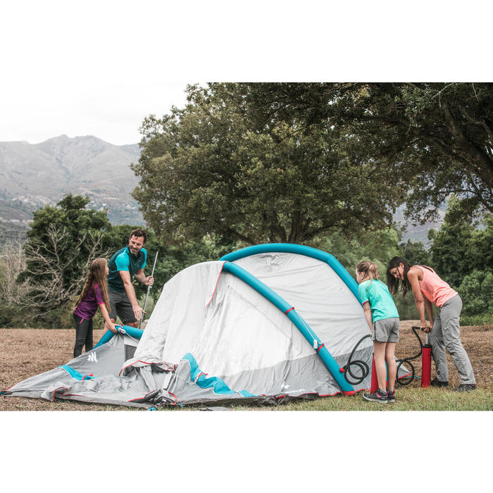 Kampeertent opblaasbaar AIR SECONDS 4.1 | 4 personen 1 slaapcompartiment