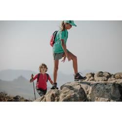 Waterdichte hoge wandelschoenen voor kinderen MH500 paars