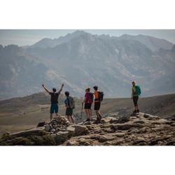 Tee Shirt de randonnée montagne MH100 manches courtes homme gris foncé