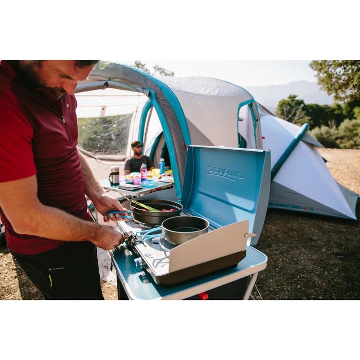 Popote camp du randonneur aluminium + revêtement anti-adhésif 2 personnes (1,4L)