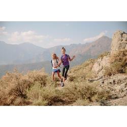 Zapatillas de montaña niños talla 28-38 impermeables Crossrock naranja