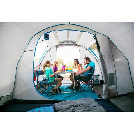 campingsessel klappbar gr n quechua. Black Bedroom Furniture Sets. Home Design Ideas
