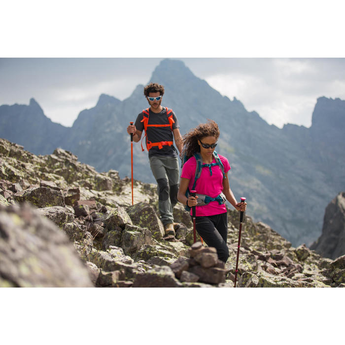 Bastón Montaña Trekking Forclaz HIKE 100 Adulto Azul