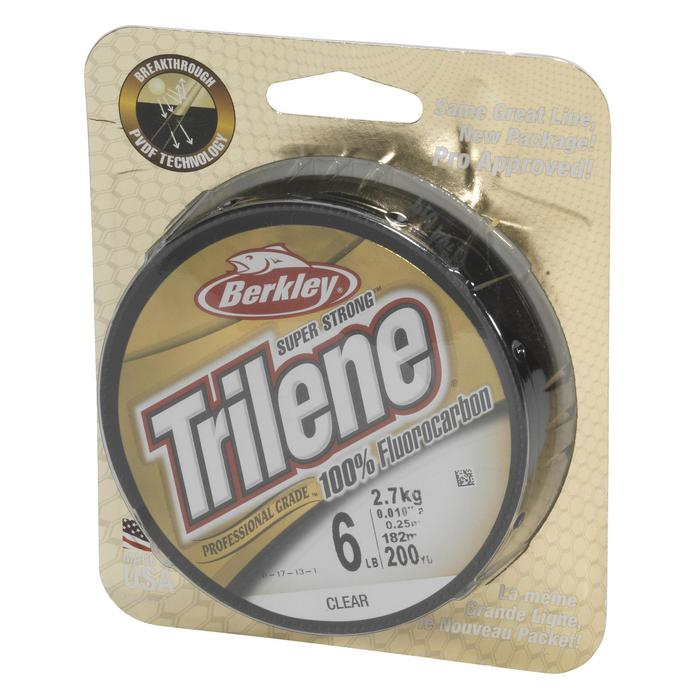 Vorfachmaterial Trilene 100% Fluorcarbon 50 m 0,20mm