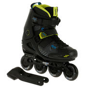 Patines adulto FREERIDE 3 SOFTBOOT acid negro