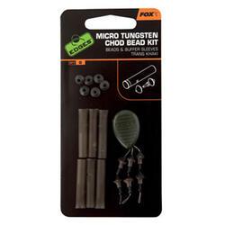 Micro Tungsten Chod Bead Set karpervissen
