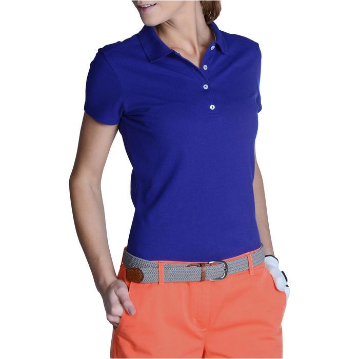 Polo de golf femme manches courtes 500 temps tempéré - 1124770