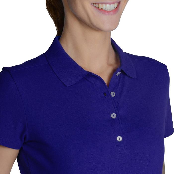 Polo de golf femme manches courtes 500 temps tempéré - 1124775
