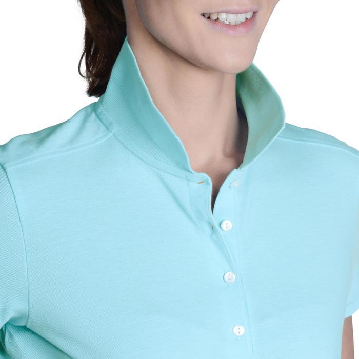 Polo de golf femme manches courtes 500 temps tempéré - 1124780
