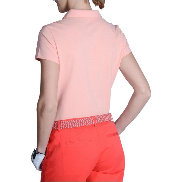 Polo de golf femme manches courtes 500 temps tempéré - 1124789