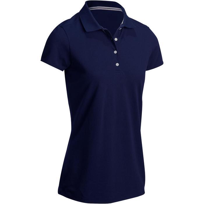 Polo de golf femme manches courtes 500 temps tempéré - 1124793