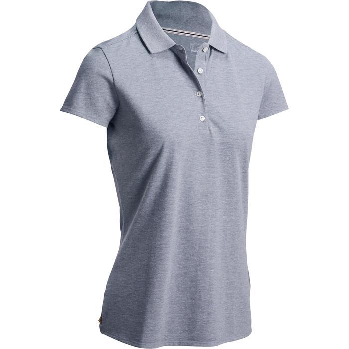 Polo de golf femme manches courtes 500 temps tempéré - 1124796