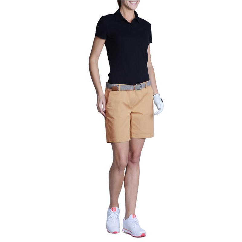 Women's Golf Basic Polo Shirt - Black