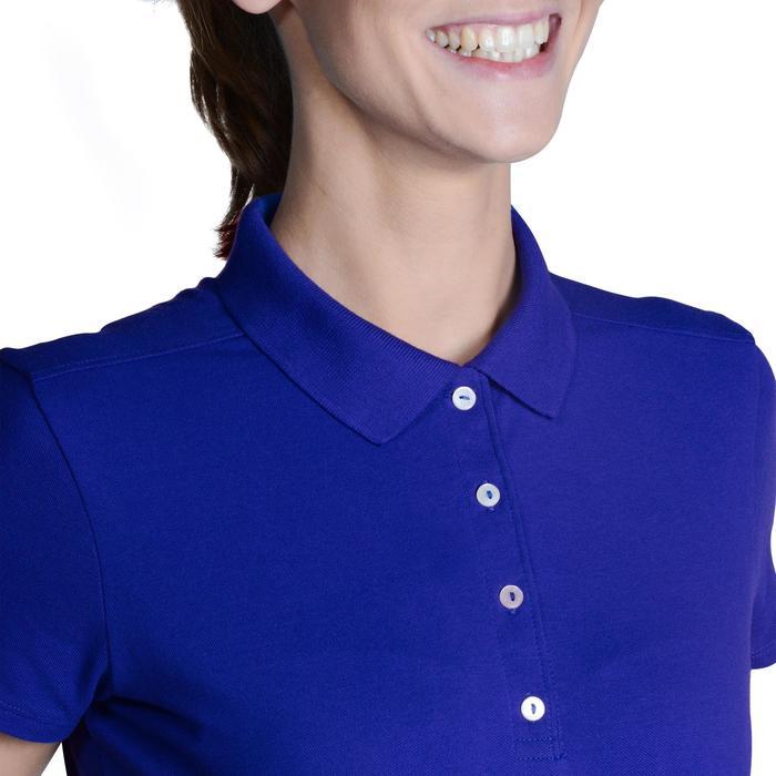 Polo de golf femme manches courtes 500 temps tempéré - 1124815