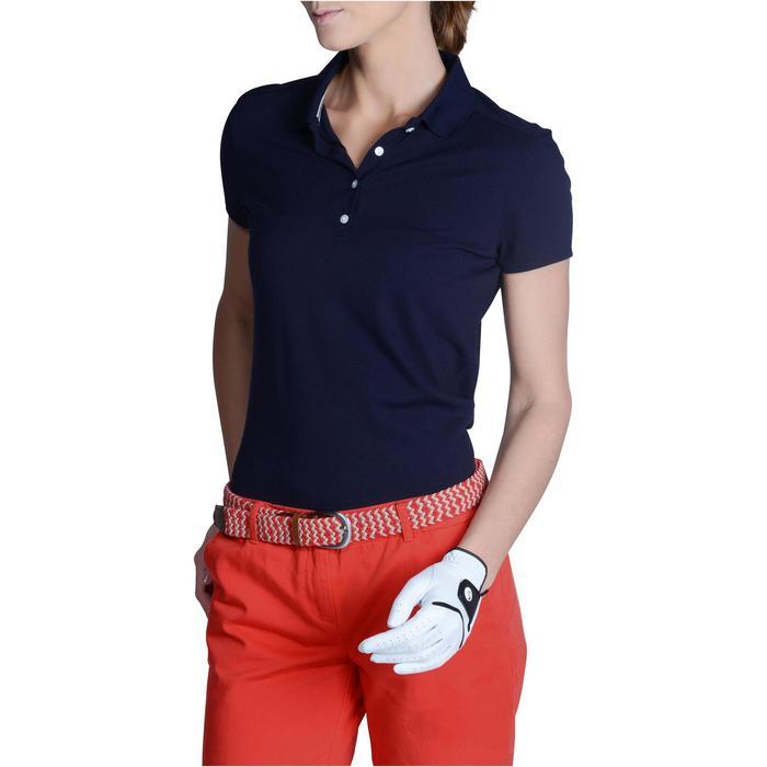 Polo de golf femme manches courtes 500 temps tempéré - 1124823