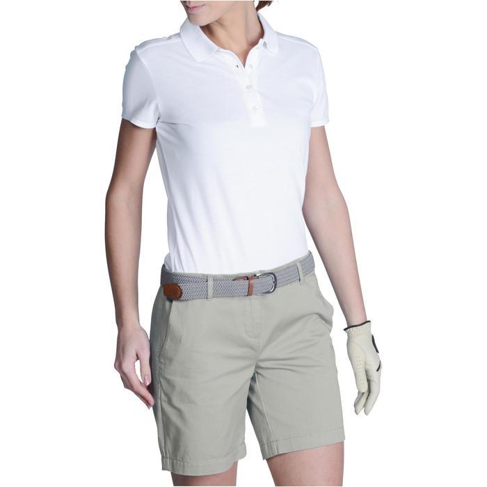 Polo de golf femme manches courtes 500 temps tempéré - 1124825