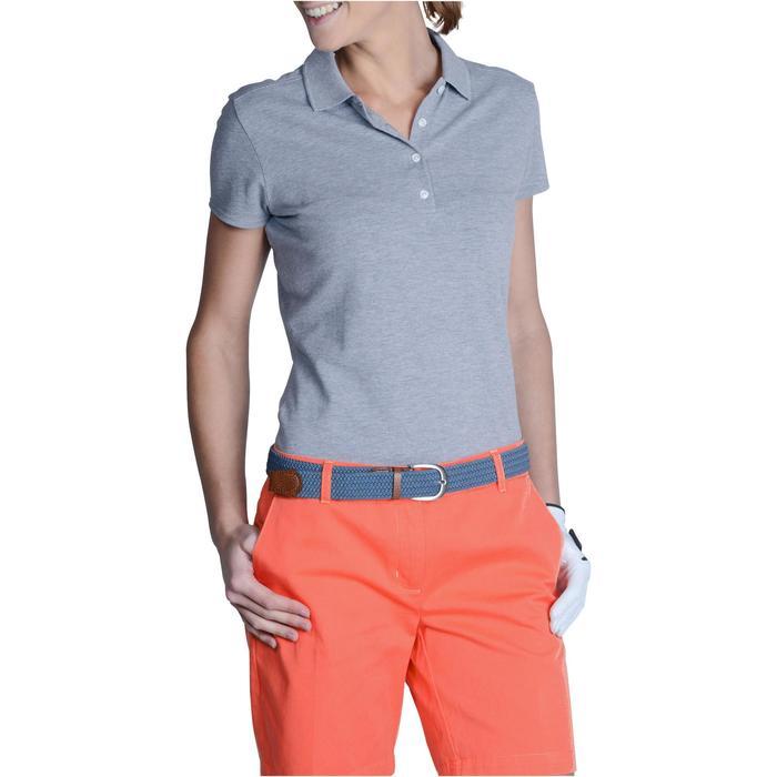 Polo de golf femme manches courtes 500 temps tempéré - 1124831