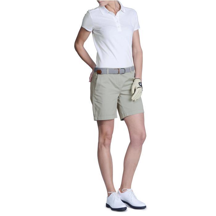 Polo de golf femme manches courtes 500 temps tempéré - 1124834