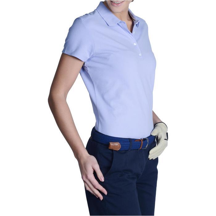 Polo de golf femme manches courtes 500 temps tempéré - 1124838