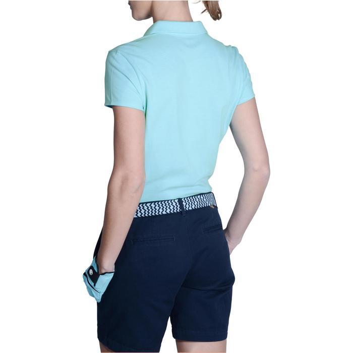 Polo de golf femme manches courtes 500 temps tempéré - 1124841