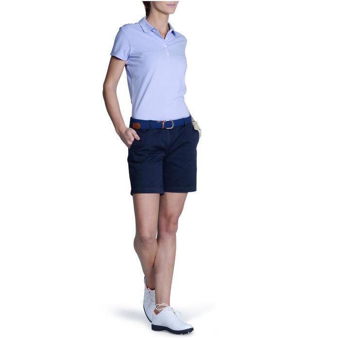 Polo de golf femme manches courtes 500 temps tempéré - 1124844