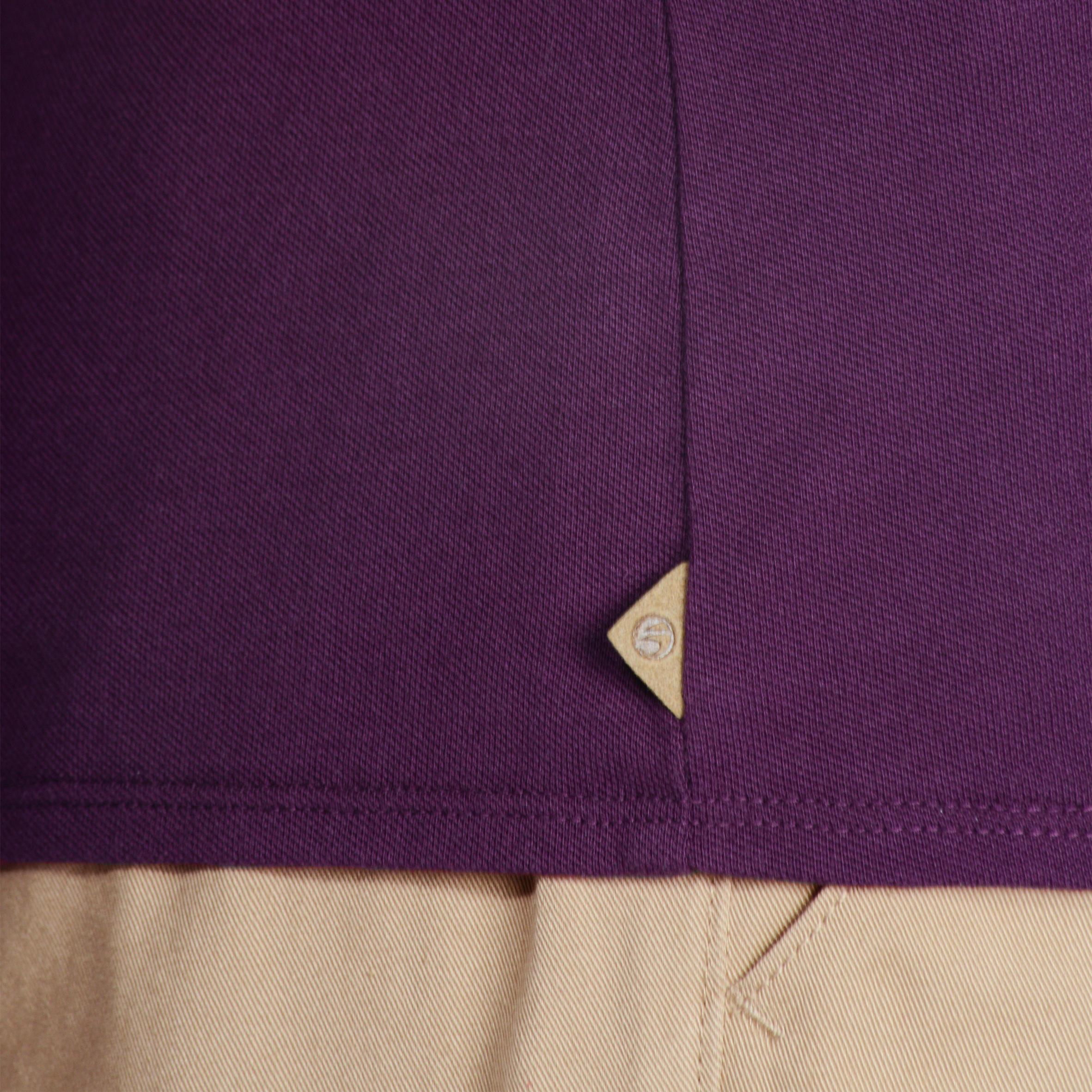 Women's Golf Polo T-Shirt 500 - Violet