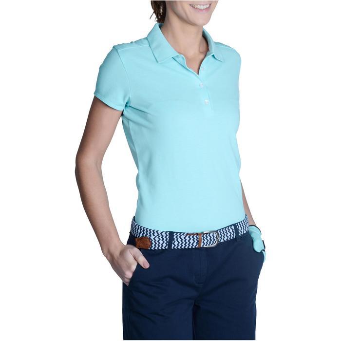 Polo de golf femme manches courtes 500 temps tempéré - 1124858