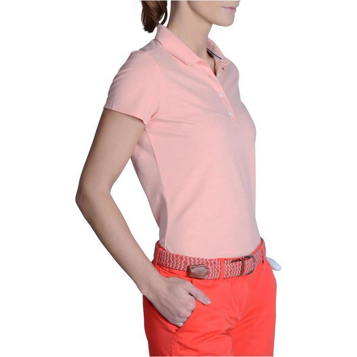 Polo de golf femme manches courtes 500 temps tempéré - 1124860