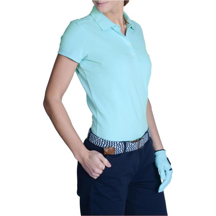 Polo de golf femme manches courtes 500 temps tempéré - 1124865