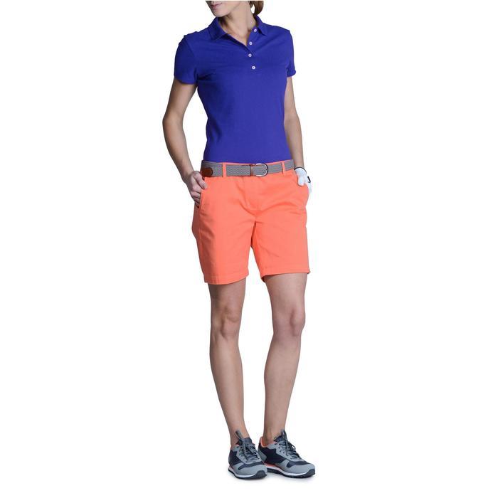 Polo de golf femme manches courtes 500 temps tempéré - 1124867