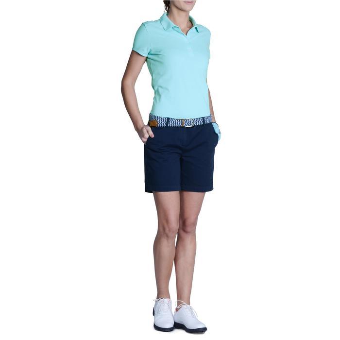 Polo de golf femme manches courtes 500 temps tempéré - 1124869