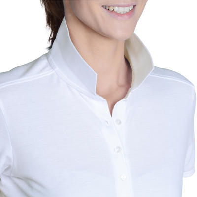 Women's Golf Polo Shirt - White