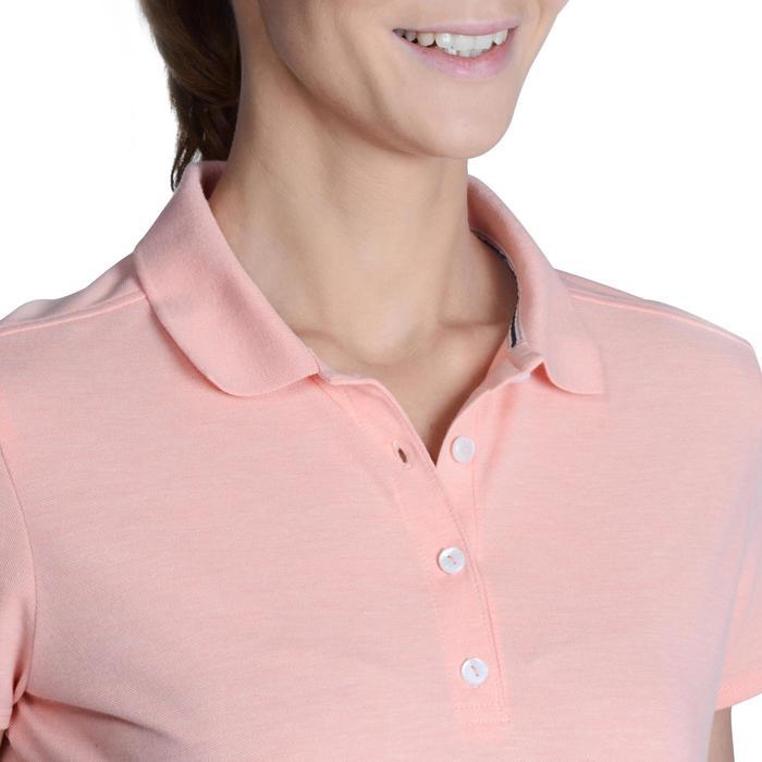Polo de golf femme manches courtes 500 temps tempéré - 1124891