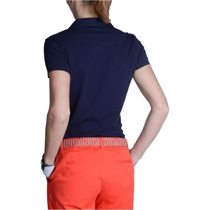 Polo de golf femme manches courtes 500 temps tempéré - 1124901