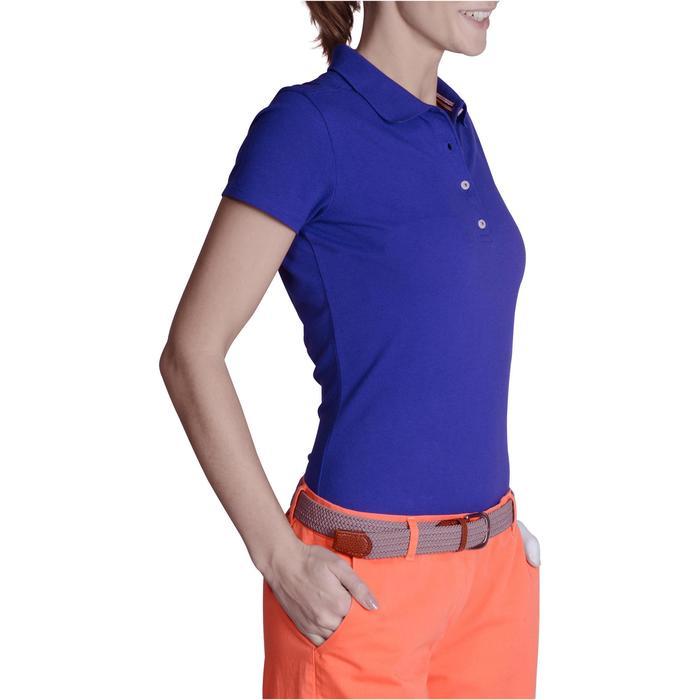 Polo de golf femme manches courtes 500 temps tempéré - 1124906