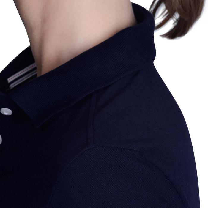 Polo de golf femme manches courtes 500 temps tempéré - 1124907