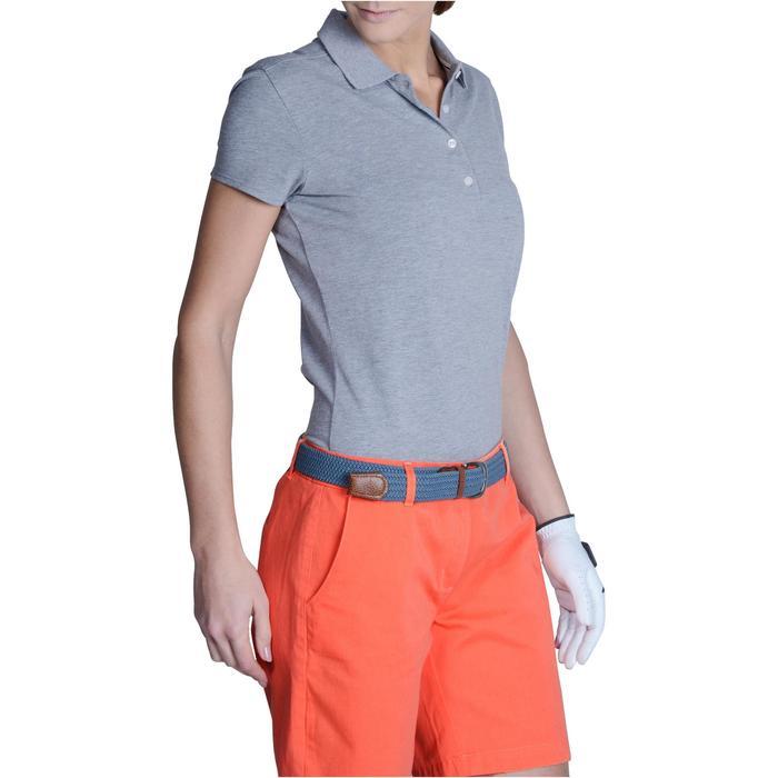Polo de golf femme manches courtes 500 temps tempéré - 1124911