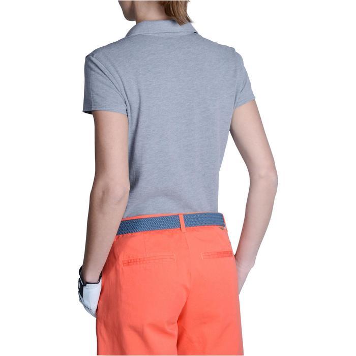 Polo de golf femme manches courtes 500 temps tempéré - 1124916