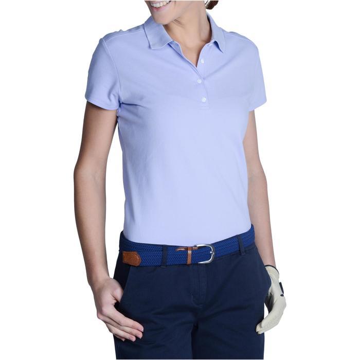 Polo de golf femme manches courtes 500 temps tempéré - 1124922