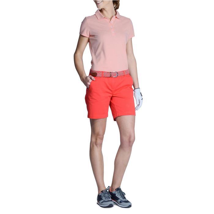 Polo de golf femme manches courtes 500 temps tempéré - 1124933