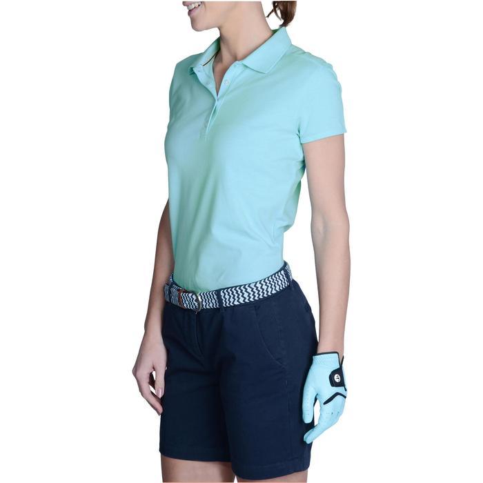 Polo de golf femme manches courtes 500 temps tempéré - 1124957