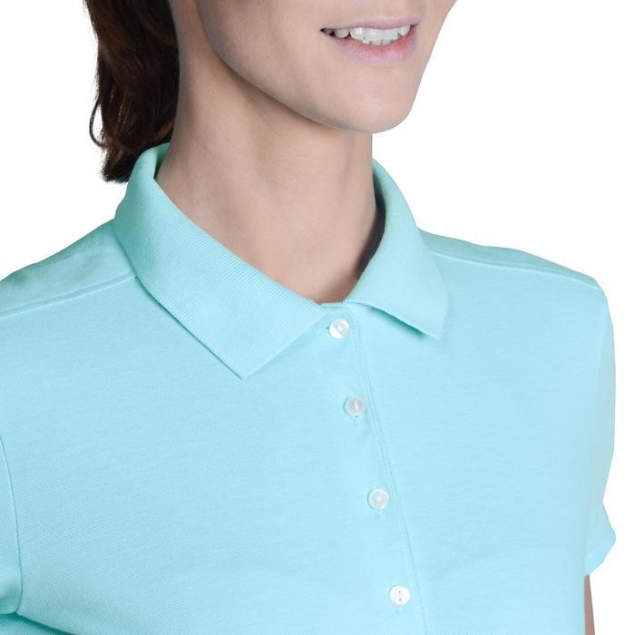 Polo de golf femme manches courtes 500 temps tempéré - 1124968