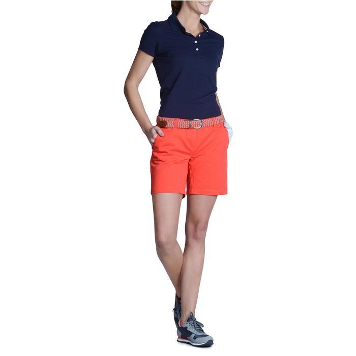 Polo de golf femme manches courtes 500 temps tempéré - 1124975