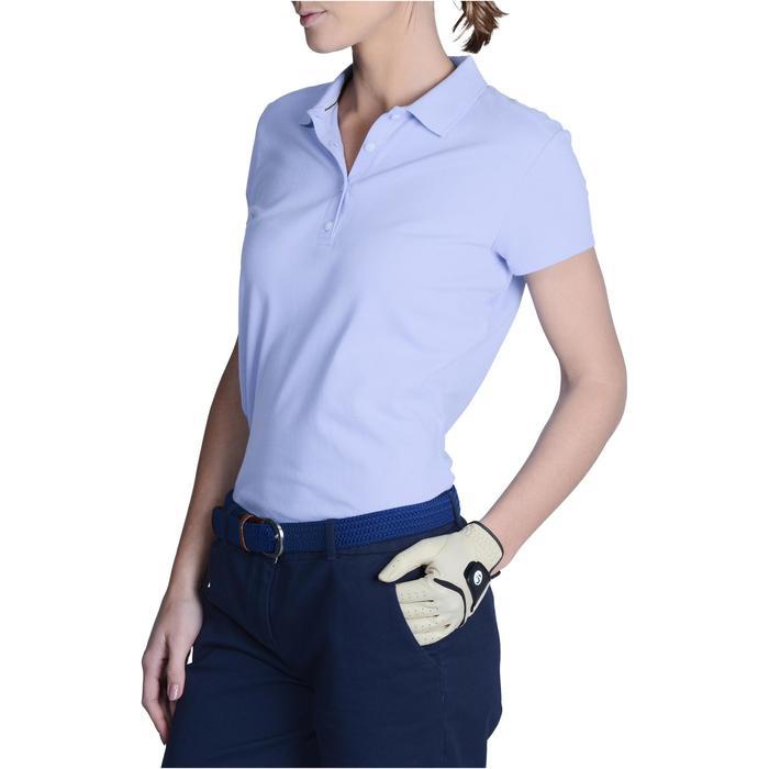 Polo de golf femme manches courtes 500 temps tempéré - 1124980
