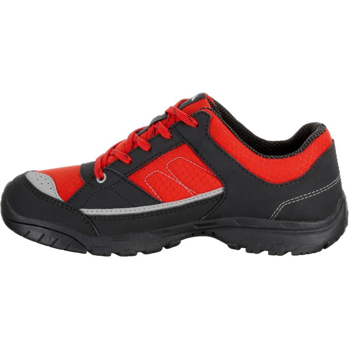 Chaussures de randonnée enfant NH100 imperméables Bleu Corail - 1125036