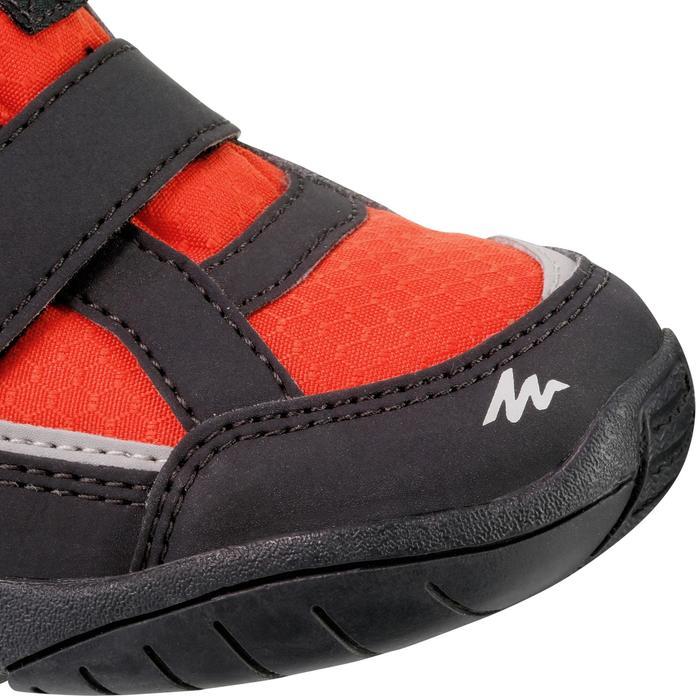 Chaussures de randonnée enfant NH100 imperméables Bleu Corail - 1125037