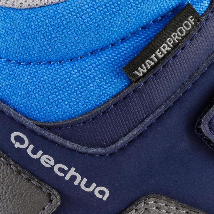 Chaussures de randonnée enfant NH500 Mid imperméables JR corail - 1125038