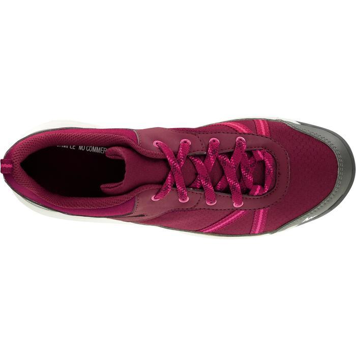 Chaussure de randonnée nature NH300 imperméable noire femme - 1125045