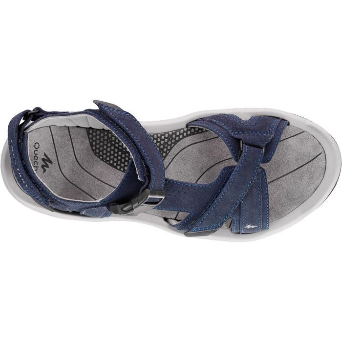 男款郊野健行鞋NH120-軍藍色